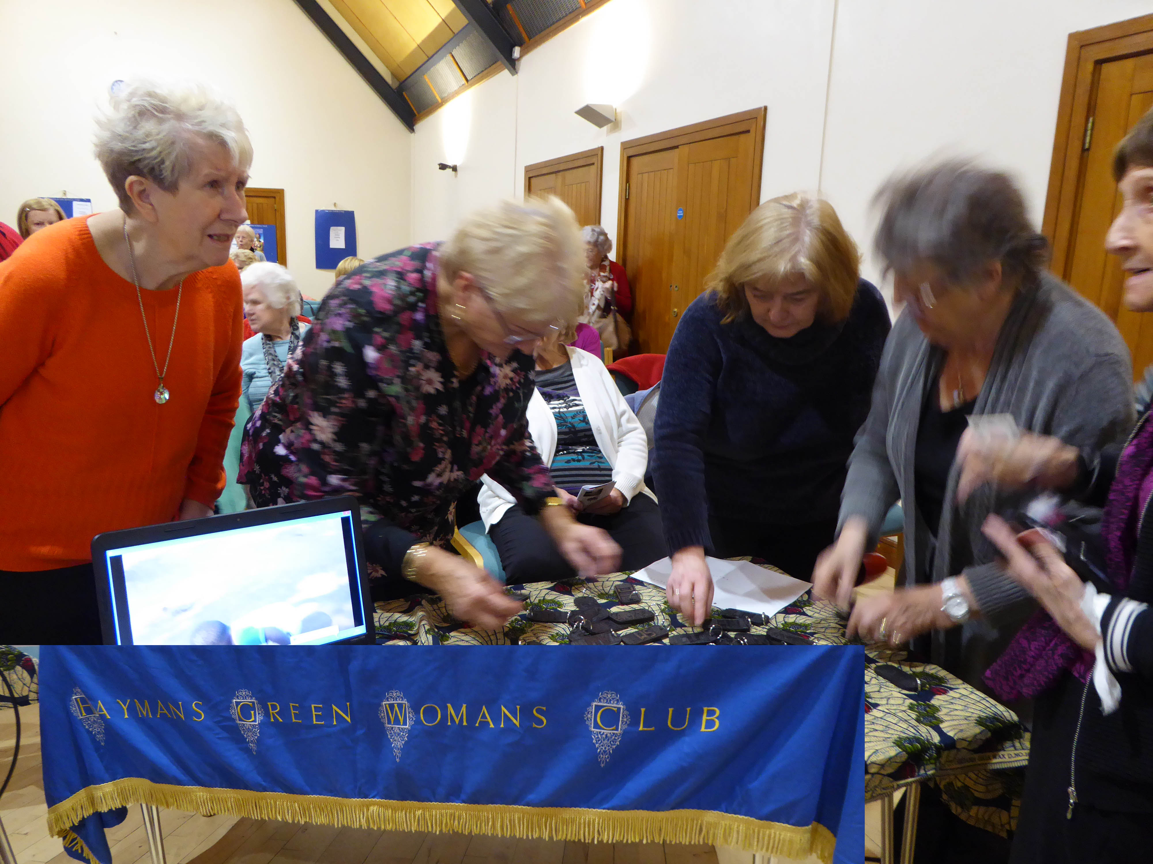 Haymans Green Women's Club finds out about Mamie Martin