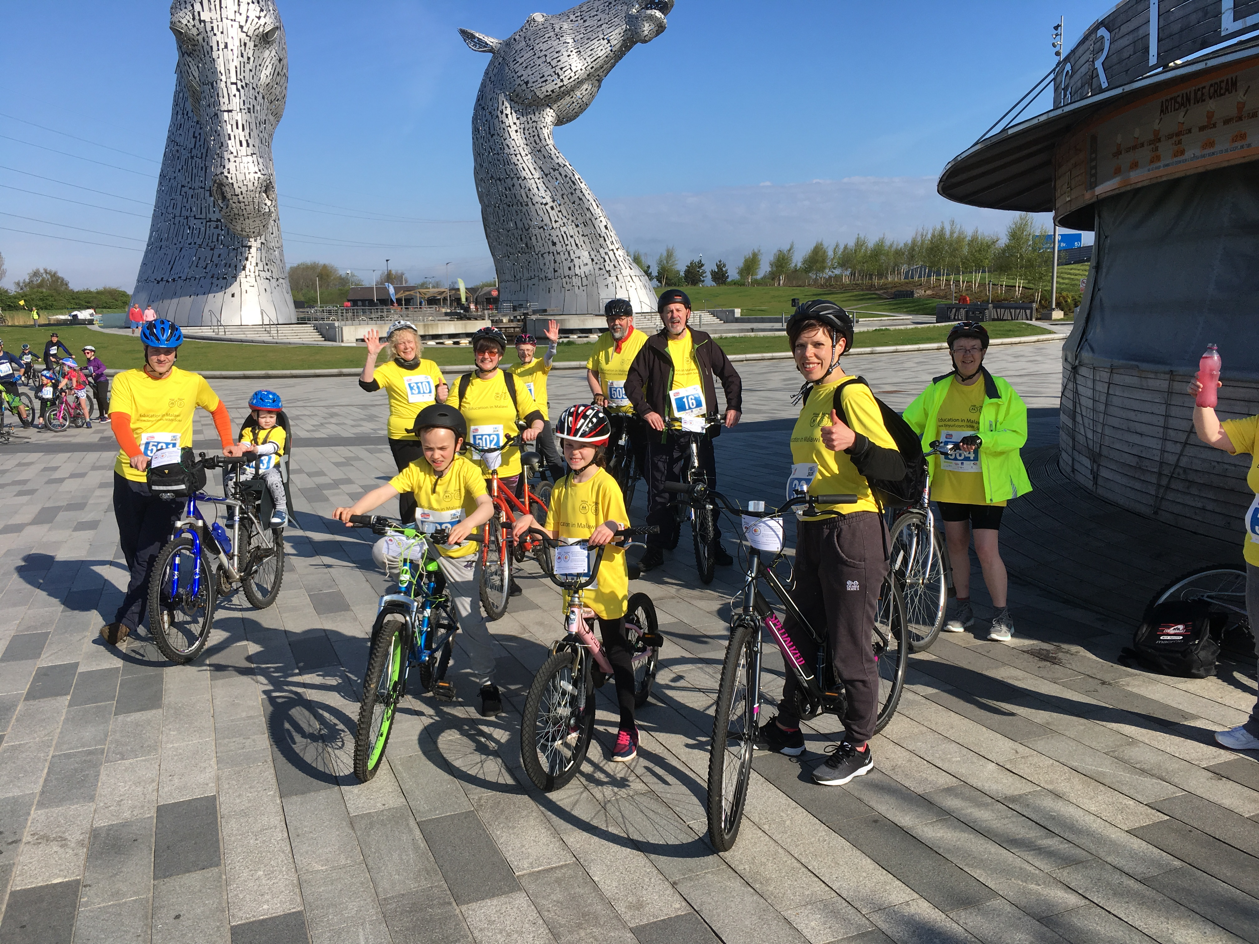 Wee Jaunt Miles for Malawi