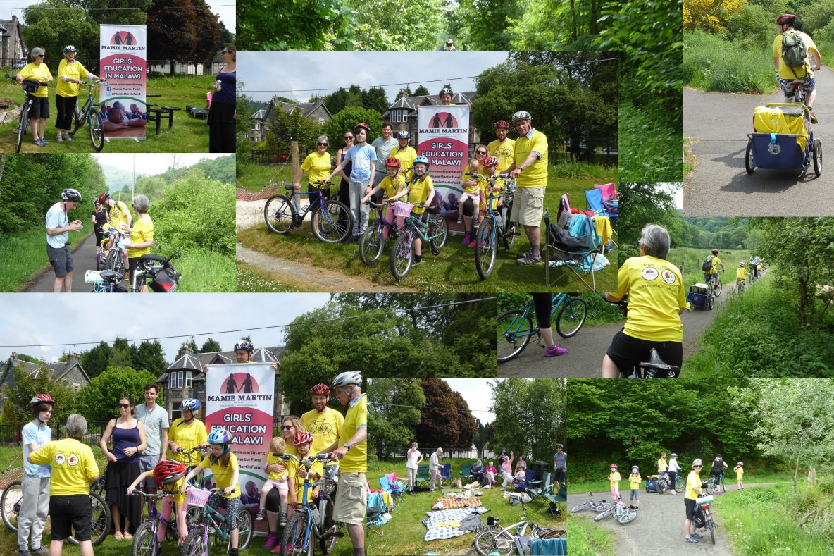 Strathendrick Baptist Church cycle collage