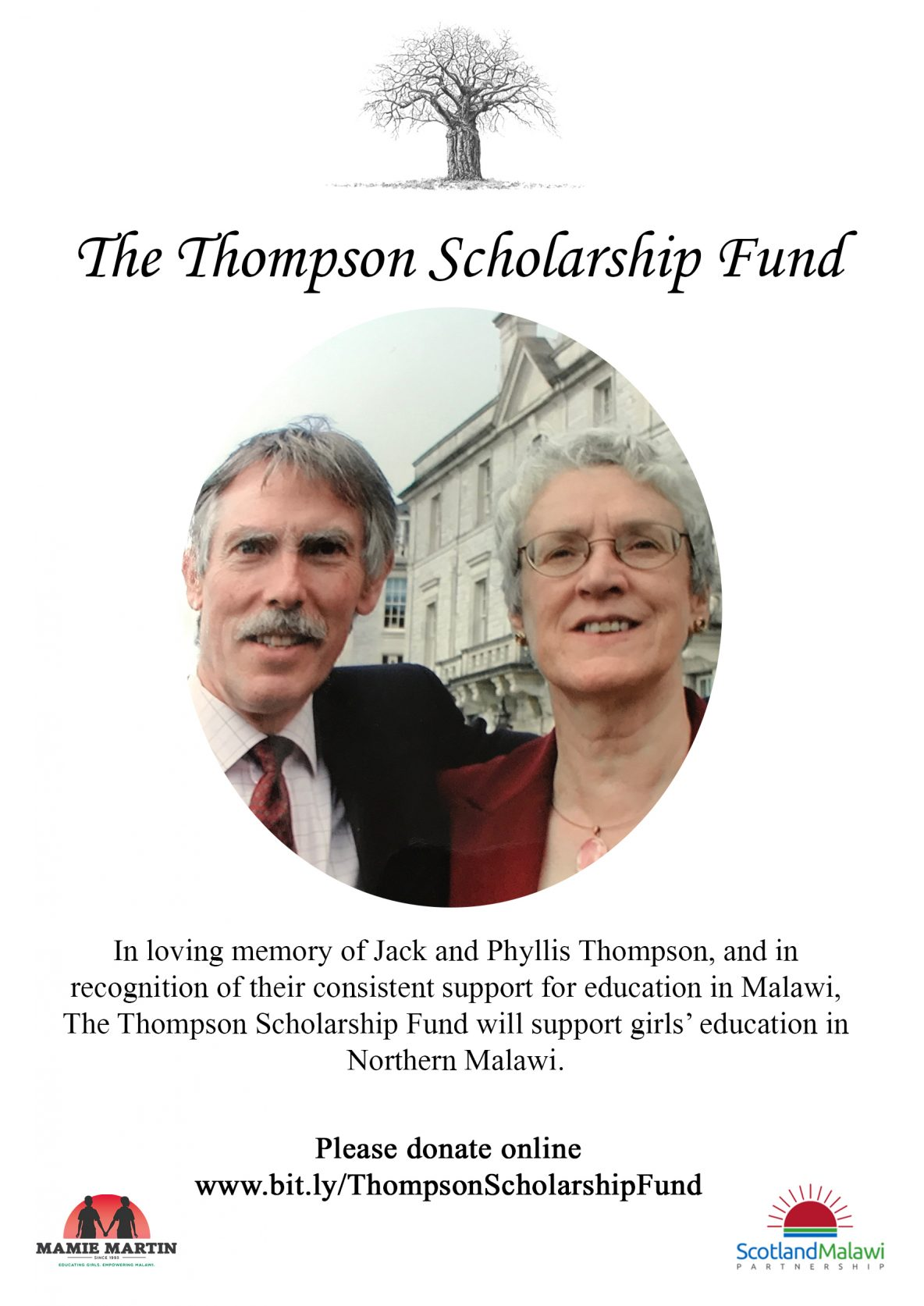 Thompson Scholarship Flyer